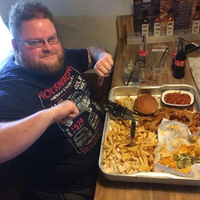 John Wilde Failed The Ultimate Burger Challenger